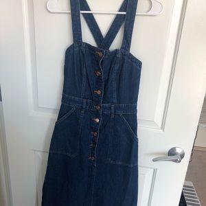 J. Crew Dresses - J crew button down denim dress